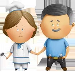 Услуга - Семейные пары (помощники по хозяйству), +7 (915) 706-87-48